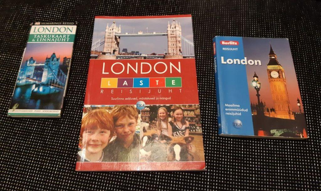 London, Londoni reis, raamatud Londoni kohta