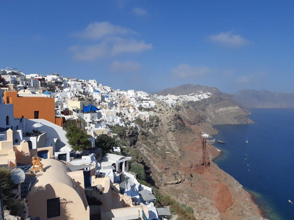 Oia, Santorini, Kreeka saared, kaldeera
