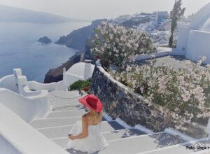 Santorini saar, Kreeka, küklaadid, Oia