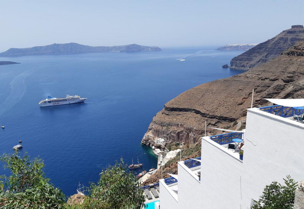 Santorini saar, küklaadid, Kreeka saared
